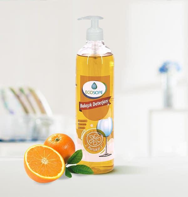 Ecosope Hand Dishwashing Detergent - Orange Scented