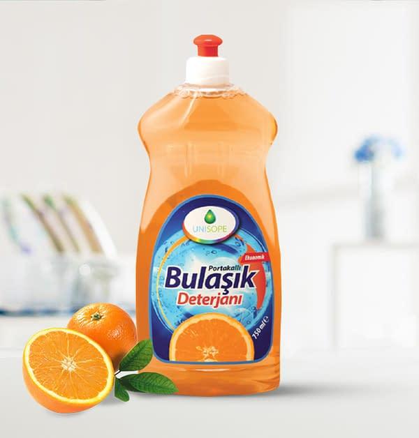 Unisope Hand Dishwashing Detergent - Orange Scented