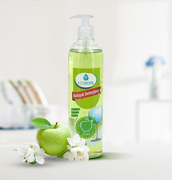 Ecosope Hand Dishwashing Detergent - Apple Scented