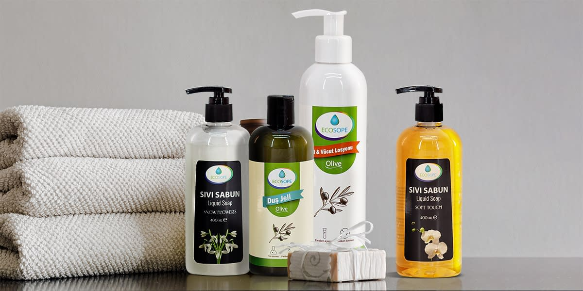 Ecosope kişisel bakım ve kozmetik ürünler
