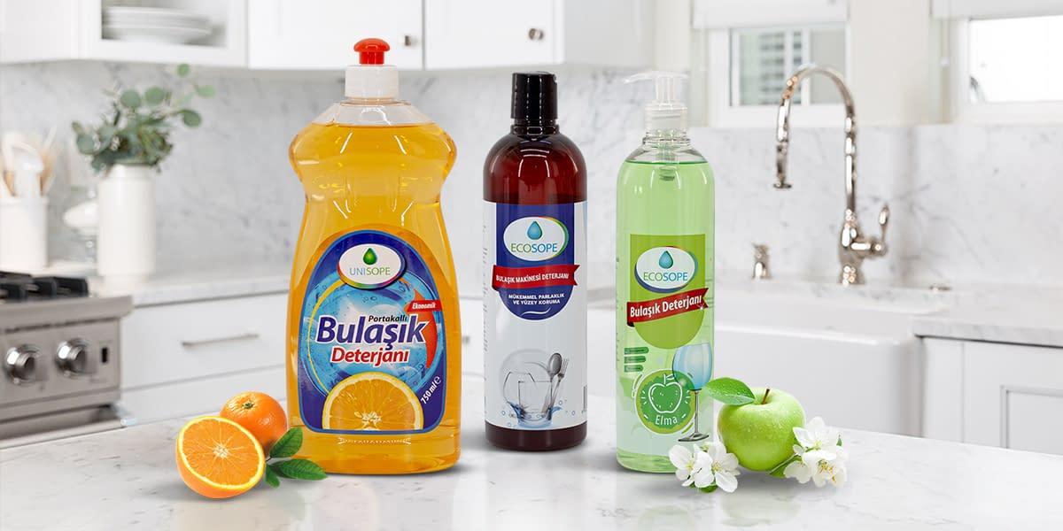 Ecosope Bulaşık Deterjanları Elde ve Makinada