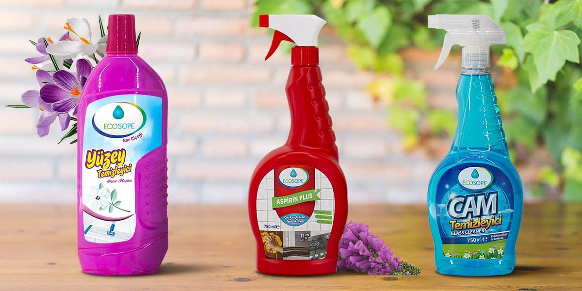 Ecosope Genel Temizlik Ürünleri